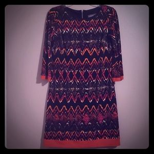 Great Every Day Print Shift Dress